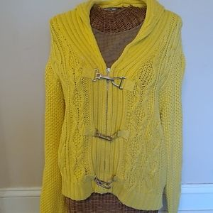 Lauren Ralph Lauren Yellow Sweater